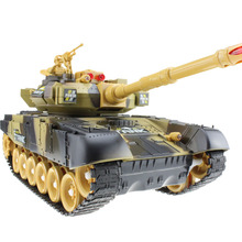 Control of large tanks against the remote control car tank model child boy toy cars