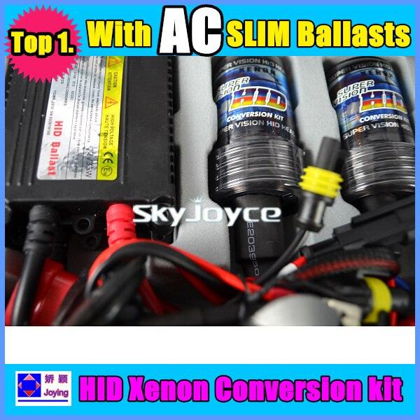 35w xeno HID KIT H1 H3 H7 H8 H9 H119005 9006 6000K free shipping 30 sets per lot