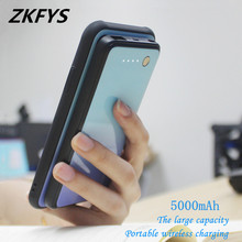 ZKFYS 5000mAh Power Bank Back Clip Battery Charger Case For Xiaomi Mi MIX 3 Magnetic Ultra Thin Fast Charger Battery Case