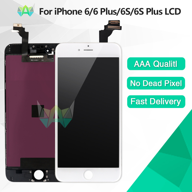 Grade AAA+++ For iPhone 6 6S Plus LCD Display Replacement With Touch Screen Digitizer No Dead Pixel Free Shipping