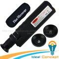 400x Fibra Óptica Inspeção (CL) Microscópio CONDUZIU A Iluminação Anti Deslizamento de Borracha
