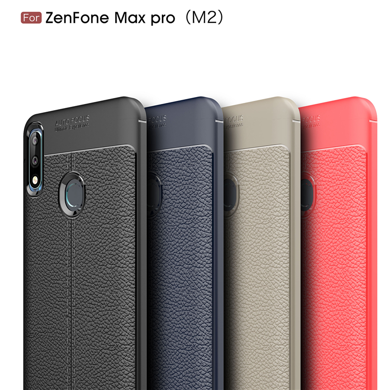 For Asus Zenfone Max Pro M2 Case Luxury Soft Silicone Coque Phone Case Zenfone Max Pro ZB631KL Cover For ASUS ZB631KL Fundas