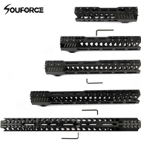 Hunting Tactical Airsoft 15 M4 Handguard Carbine 7/10/12/13.5/15 Inch Free Float Quad Rail Picatinny Mounting Rifle Accessori