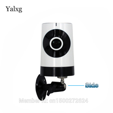Yalxg Mini Wifi Ip 720P Home Security Camera Smart network Baby Monitor Two Way Voice panoramic 185 degrees fisheye Cctv Hd lens