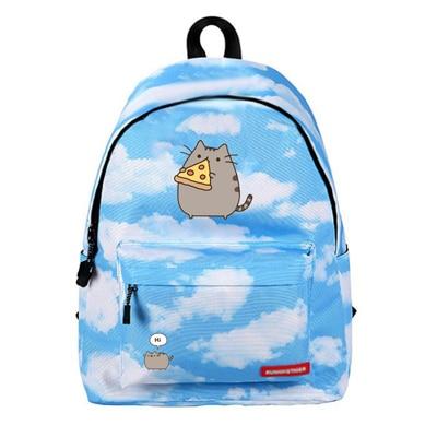 2019 new unicorn backpack women Cartoon Pikachu bookbag school bags for teenage girls sac a Fat Cat backpacks-in Backpacks from Luggage & Bags on AliExpress - 11.11_Double 11_Singles' Day 1
