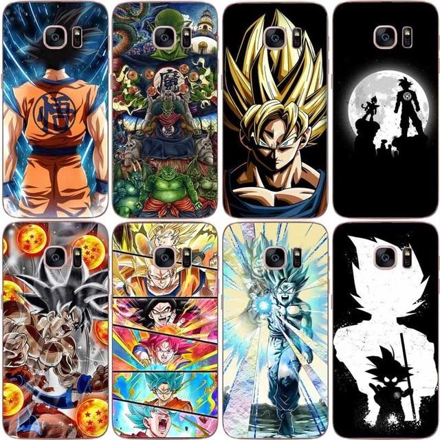 best website 6572f 0bb0e US $2.66  Dragon Ball z goku DragonBall Coque Shell Phone Case soft TPU  Case Cover For Samsung S7 EDGE S8 S9 S9 PLUS S10 S10 PLUS NOTE 8-in Phone  ...