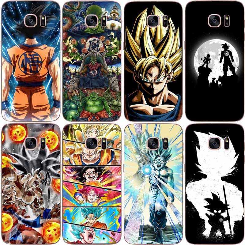 Dragon Ball z goku DragonBall Coque Shell Phone Case soft TPU Case ...