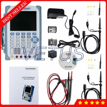 On sale 5.7 inch TFT LCD 2CH 200MHz 500MSa/s Portable Handheld Oscilloscope Hantek DSO1200 with osciloscopio digital dso oscilloscopes