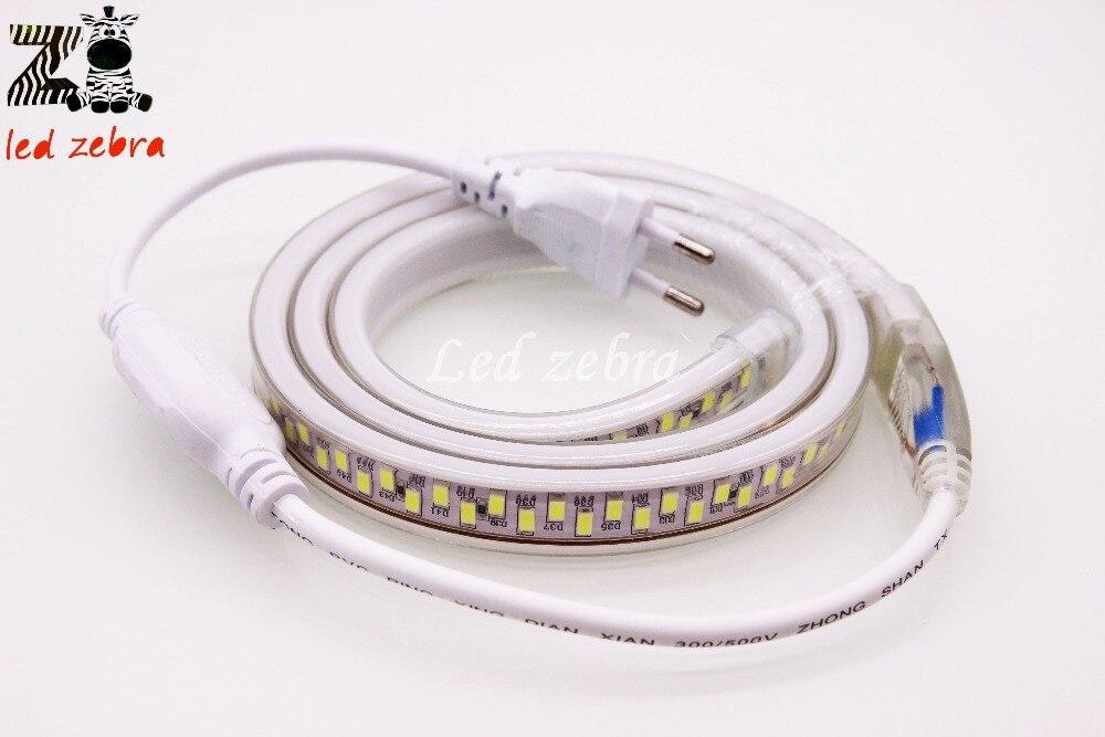 Super bright 220v 5630/5730 smd led strip light,50m/100m 180led/m white/warm white Cross led chip led lamp with plug e14 3w 300lm 3300k 6 smd 5630 led warm white light lamp silver 200 240v