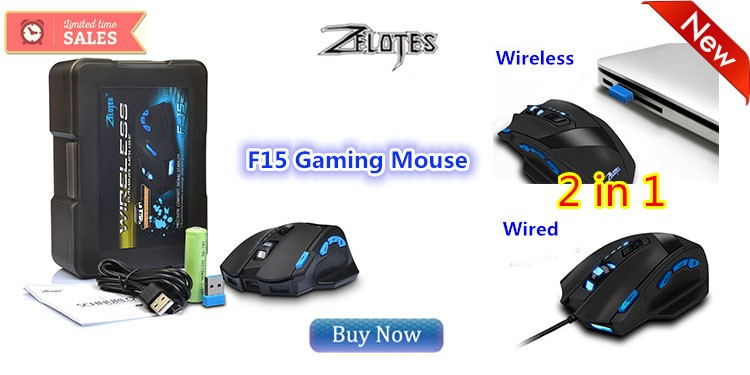 F15 gaming mouse Wird Wireless