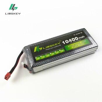 цена на Limskey Power Batterry 11.1v 10400maH 30c to 40c T/XT60 Plug For Boat Quodcopter Parts Betaria VS 3s battery 10000mah battery
