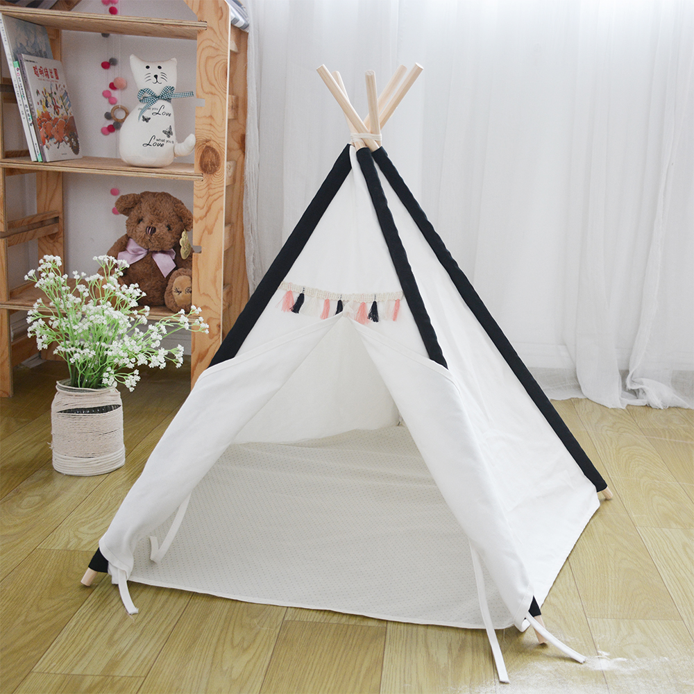 LoveTree Pet Teepee Tent Dogs Cats Bed Room dog home teepee Tent tunnel-in Toy Tents from Toys u0026 Hobbies on Aliexpress.com | Alibaba Group & LoveTree Pet Teepee Tent Dogs Cats Bed Room dog home teepee Tent ...