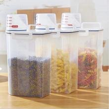 Rice Container Food Storage Container Kitchen Organization Cereal Container Kitchen Box Grain Cans Fridge Plastic Containers cheerios multi grain cereal 9 ounce boxes pack of 4