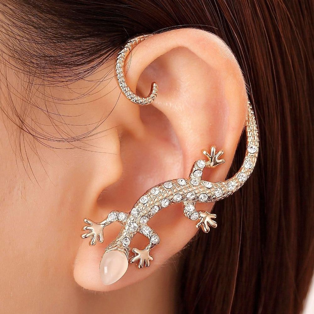 Boucle d'oreille cartilage or