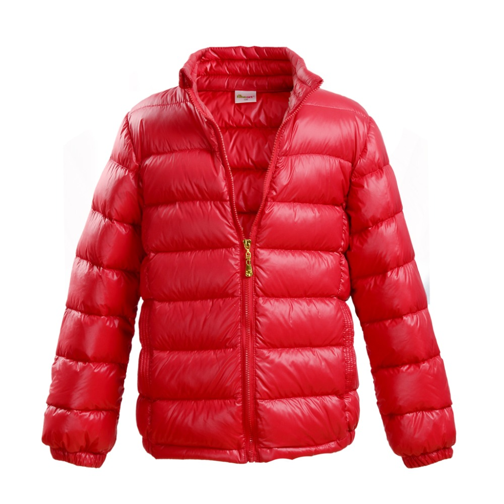 ФОТО HOT Children Down parka Baby Winter thermal outerwear boy girl candy color down Coat Wholesale Girl warm Clothes