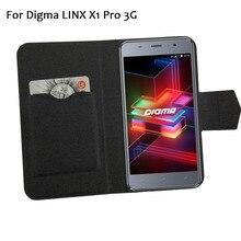 5 цветов хит! Digma LINX X1 Pro 3g чехол для телефона кожаный чехол, заводская цена защитный полный Флип Стенд кожаный чехол для телефона s