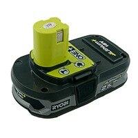 Используется Ryobi 18 вольт 2500 мАч RB18L25 One Plus литий-ионный Перезаряжаемые Батарея для P104 P108 BPL-1815 BPL1820 гарантия работы