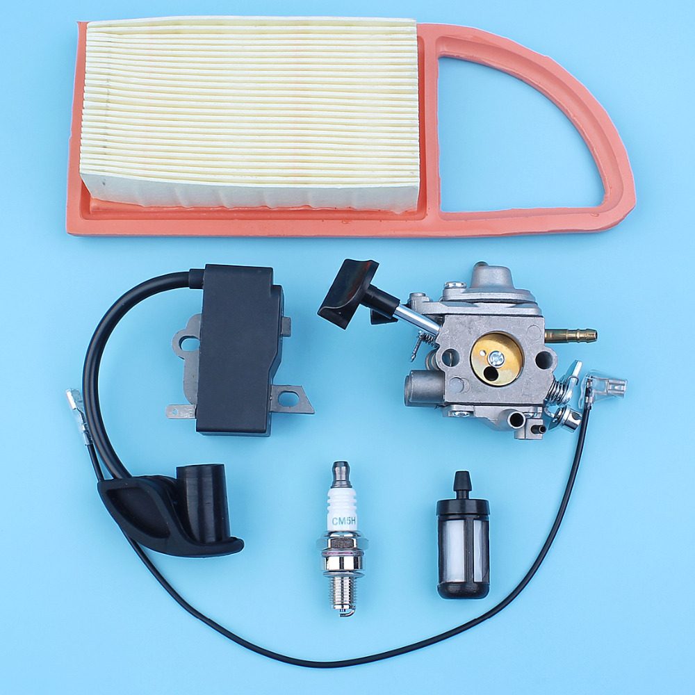 Carburettor Ignition Coil Air Fuel Filter Spark Plug Fit Stihl BR600 BR500  BR550 Backpack Leaf Blower Replace Zama C1Q S183 Carb-in Chainsaws from  Tools on ...