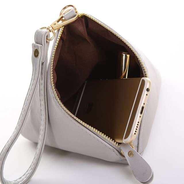 Vogue Star Fashion Mini Tassel Clutch Leather Bag Designer Purse Famous  Brand Women Fringe Handbag Evening b65ce84fc7849