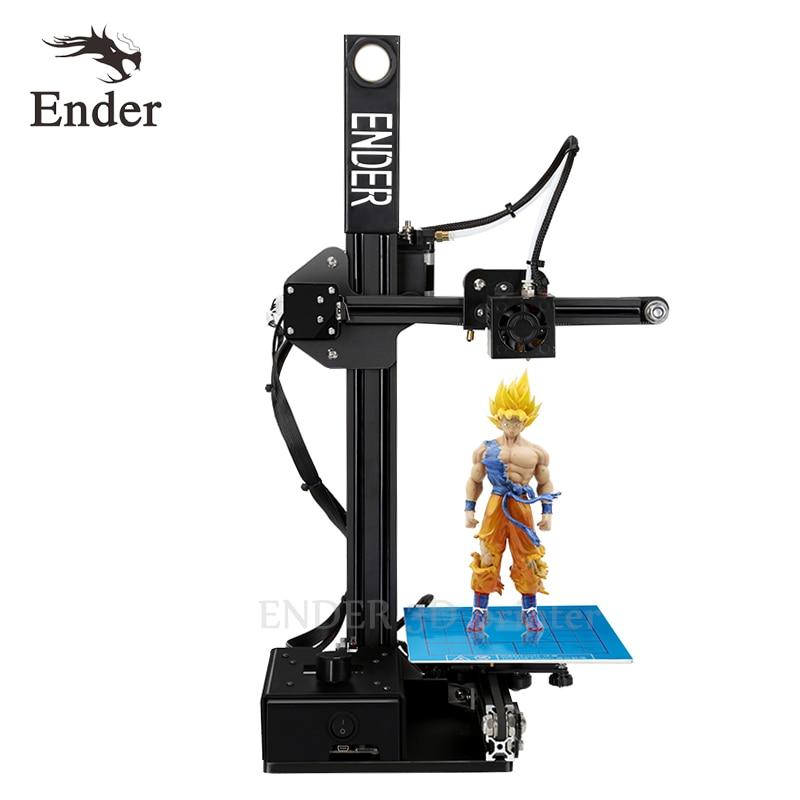 2018 di Alta Precisione Ender-2 3D stampante Kit FAI DA TE Telaio In Metallo Mini 3D stampante con Filamento 8g SD card Focolaio visitare pagina dei dettagli