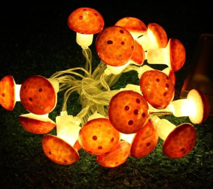 2m 10Led Led lights string ball battery box string lights decoration lights