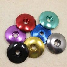 AL 7075 Top CNC Bike Headset Cap 1-1/8 MTB Road Bicycle 7 Colors Accessories