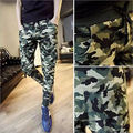 UK STOCK Hot Sale Men Clothes Summer Long Cotton Camouflage Joggers Sweatpant Harem Slack Trousers Pants