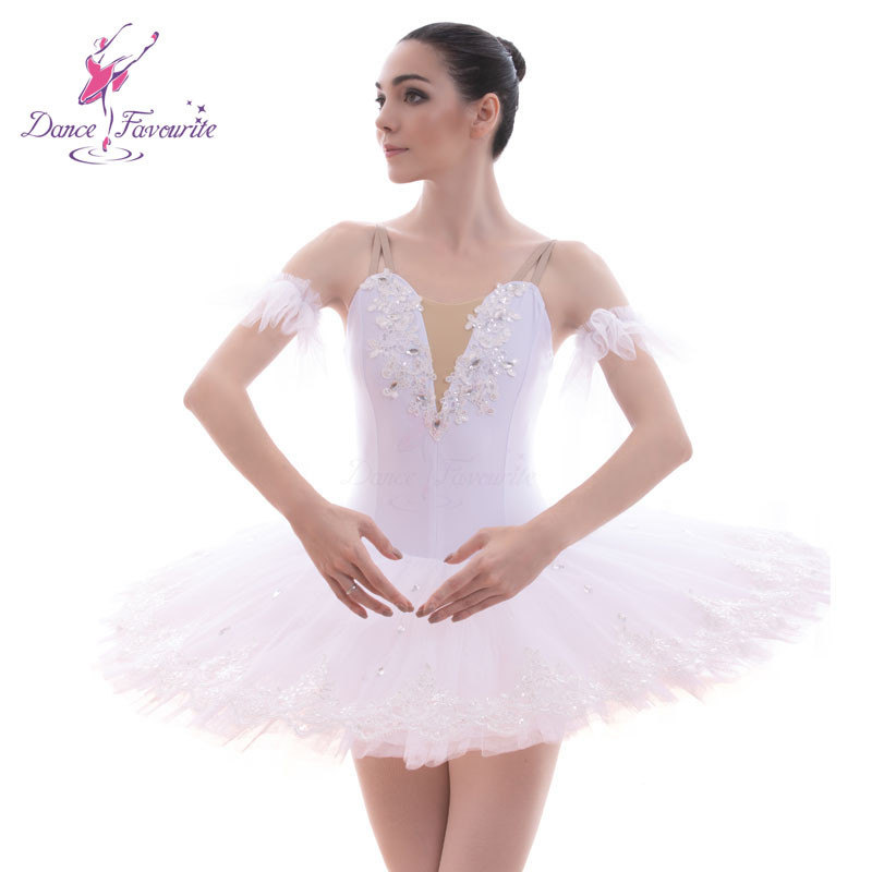 BLL048 White Pre-professional Ballet Tutu Women And Girl Stage Ballet Costumes Tutu Ballerina Tutu Ballerrinas Tutu