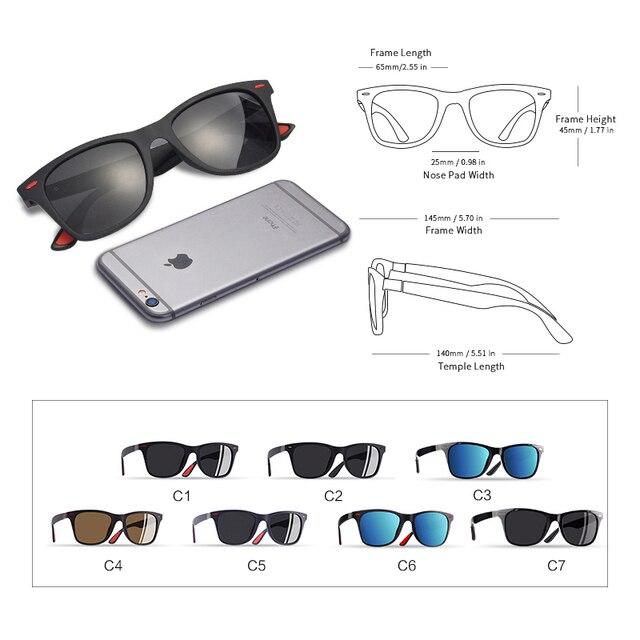 AOFLY Ultralight Polarized Sunglasses - UV400 5