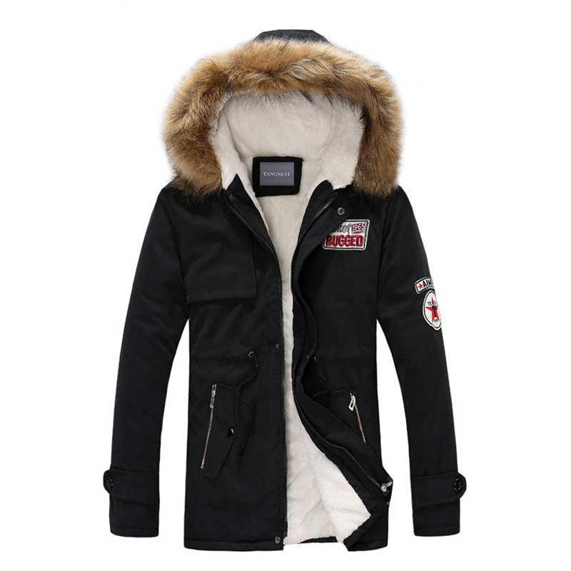 Schmuck & Zubehör Marke Koreanische Mann Mode Warme Parkas Patchwork Baumwolle-gepolsterte Stil Junge Männer Winter Jacken Halsketten