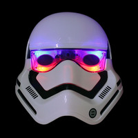 LIGHTMATES Nightlight Holiday Lighting Party Prop Led Flash Of Light Film Theme Masks Star Wars Black