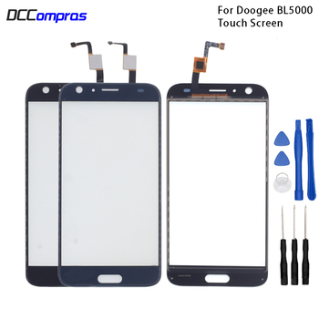 цена на Original Touch Screen For Doogee BL5000 Touch Panel Glass Replacement For Doogee BL5000 Touch Panel Free Tools