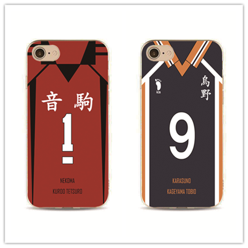 phone case HAIKYUU Custom Jersey personalised cover for