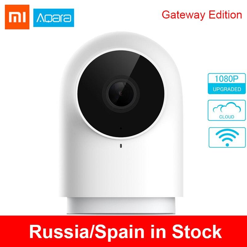 Original xiaomi aqara câmera inteligente 1080 p g2 g2 zigbee ligação ip wifi webcam nuvem de segurança dispositivos inteligentes pk dafang câmera