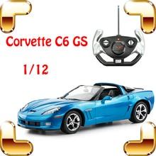 Новые классные подарок 1/12 Chevrolet Corvette C6 GS RC фильм roadster автомобиль Дистанционное управление большой автомобиль электрический Игрушечные лошадки Race Обувь для мальчиков подарок