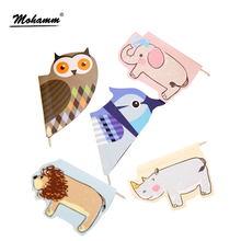 Kawaii Paper Clips Magnetic Bookmarks With 0.8mm Ball Pens For Writing For Books Office Accessories Stationary School Supplies
