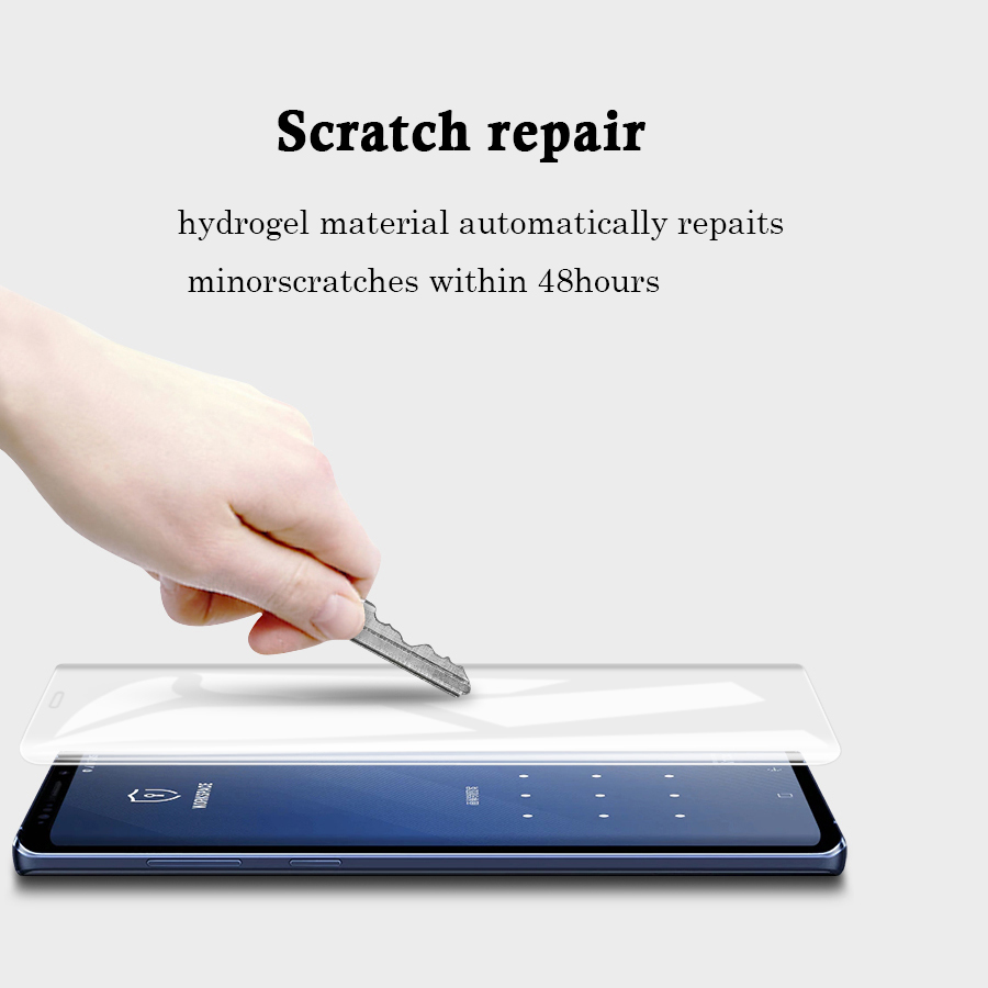 VALAM Full Cover Hydrogel InvisibleSoft Screen Protector For Samsung Galaxy Note9 Note8 Full Cover Back Film For Note9 Note8 in Phone Screen Protectors from Cellphones Telecommunications