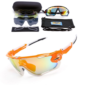 DONSUNG 5 عدسة الاستقطاب الصيد النظارات الشمسية الفك الدراجات نظارات الرجال الرياضة UV400 حماية الكسارة نظارات الدراجة دراجة نظارات