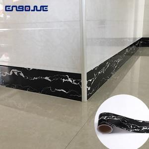 0,1x5 M azulejos adhesivos decorativos impermeables adhesivo cocina dormitorio piso puerta marco mármol pared pegatina borde papel pintado
