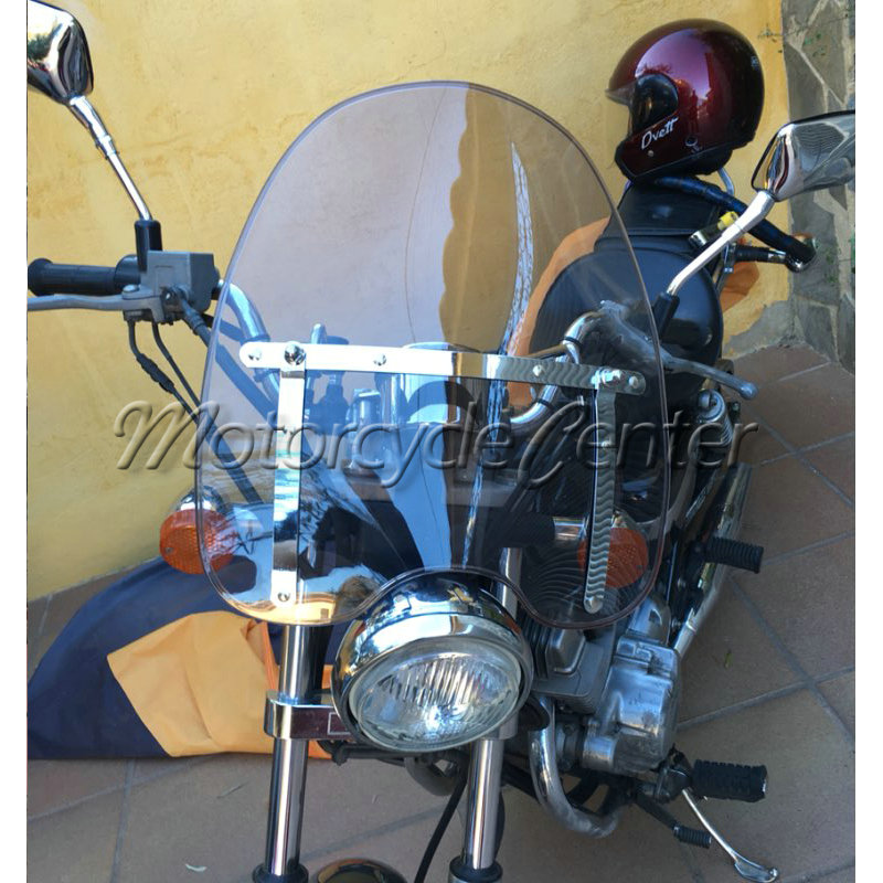 Smoke Windscreen Windshield For 1969 2018 Suzuki Boulevard C50 C90 M50 M90 S40 S50 S83 Intruder