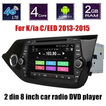 For Kia CEED 2013-2015 Car DVD GPS Autoradio Central Multimedia System steering wheel control touch screen