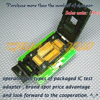 BM11120 Programmer Adapter PM-RTC005-312B IC51-0804-566 Adapter/IC SOCKET/IC Test Socket 100% new ic51 0162 sop16 ic test socket programmer adapter burn in socket ic51 0162 271