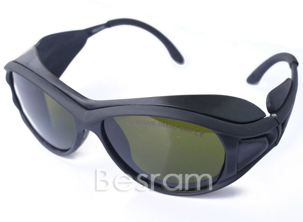 ФОТО Laser eye goggles safety glasses 200-450nm 800-2000nm 808nm 980nm 1064nm YAG IR