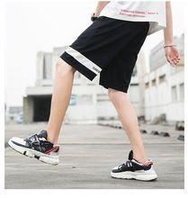 MJARTORIA 2019 Men Casual Shorts Men's leisure Shorts Summer Knee Length Trousers Slim Sports Beach Fashion Jogger Shorts New