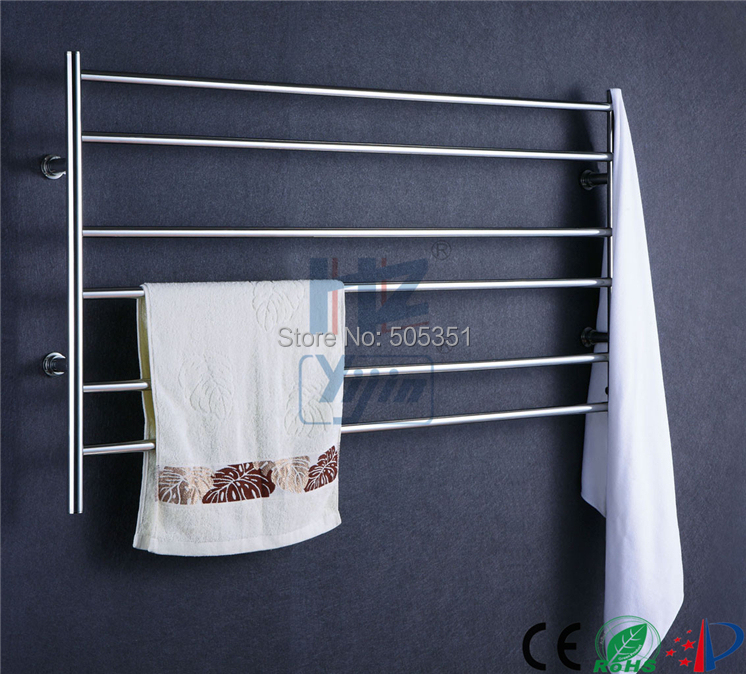 1pc Heated Towel Rail Holder Bathroom Accessories Towel: Wide Size Stainless Steel Bathroom Accessory Electric