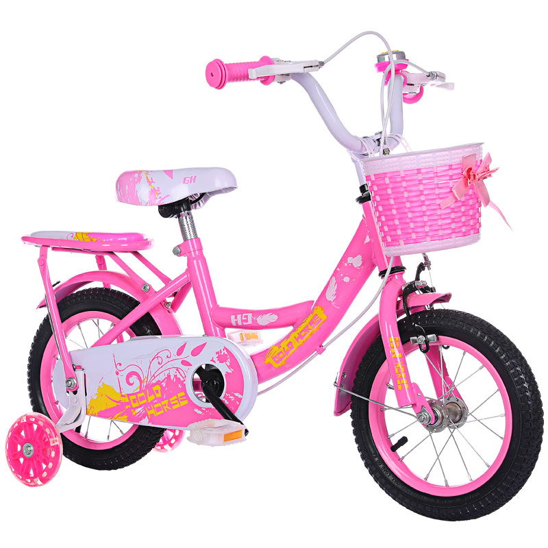 New Princess Girls Car Children S Bicycle Three Wheels Bike Kids