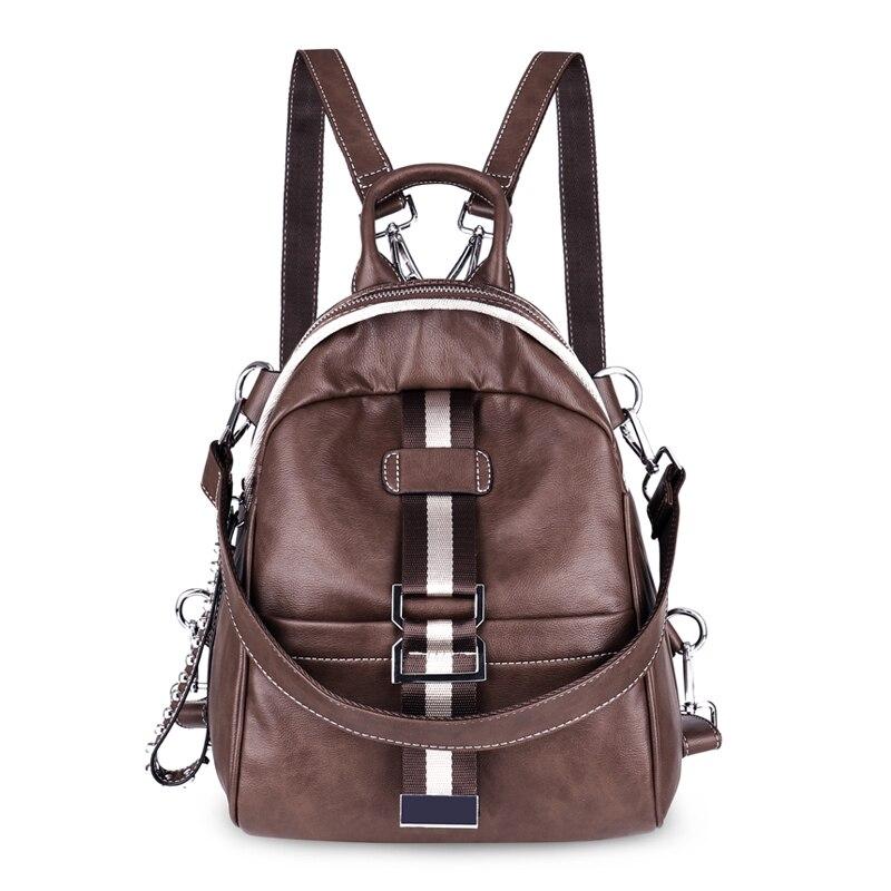 2018 femmes sacs à dos en cuir de luxe Designer Mochila Feminina sacs à dos pour filles dames sac à dos Style Preppy femme sac à dos