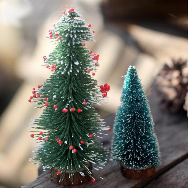 christmas gift miniature christmas tree furnishing articles ornaments simulation cedar crabapple special christmas meal