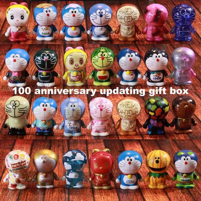 Panas Penjualan Jp Kartun 100 Anniversary Doraemon Koleksi Tokoh