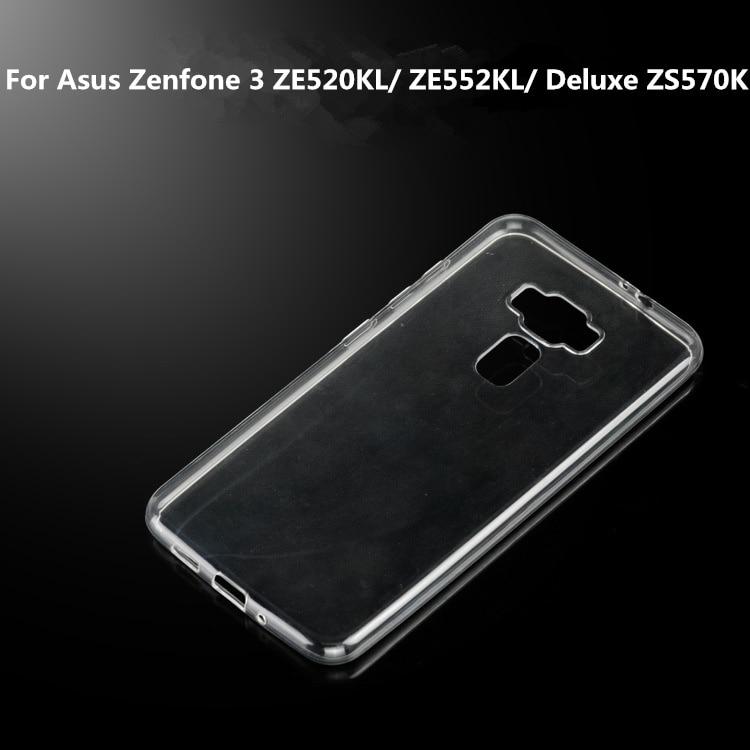 Для Asus <font><b>Zenfone</b></font> <font><b>3</b></font> ZE520KL смартфон прозрачный ультратонкий TPU крышка силикона мягкие для Asus <font><b>Zenfone</b></font> <font><b>3</b></font> ZE552KL/Deluxe ZS570KL